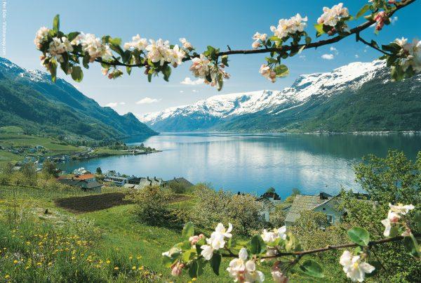 Vakker natur fra Hardanger. Foto: Per Eide - Visitnorway.com